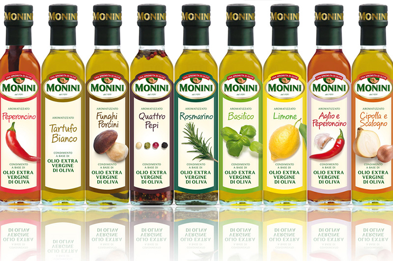 Monini Flavored EV Olive Oils
