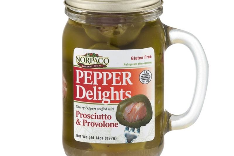 Pepper Delights Prosciutto and Provolone Stuffed Peppers