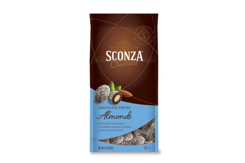 Sconza Chocolate Toffee Almonds